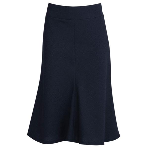 3/4 Length Fluted Skirt