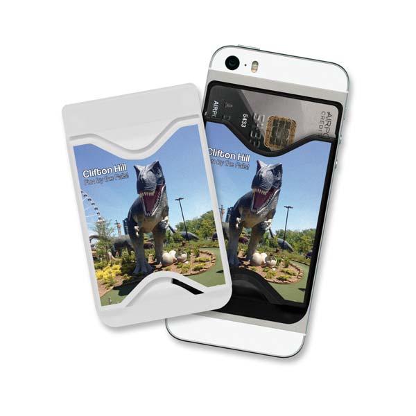 Plastic Phone Wallet