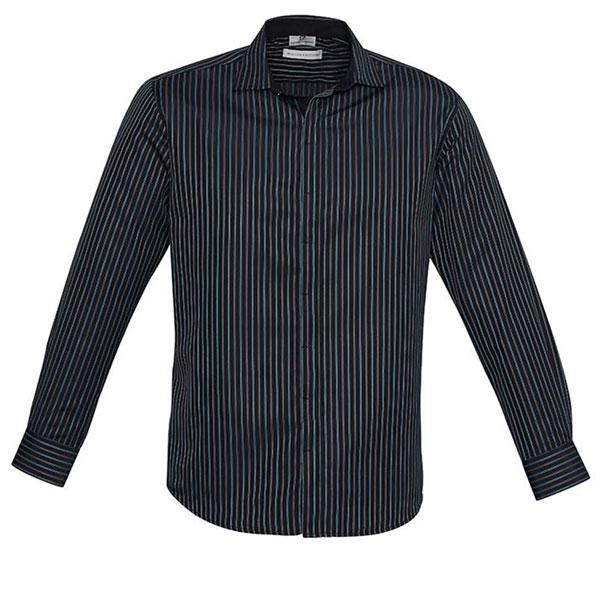 Mens Reno Striped L/S Shirt