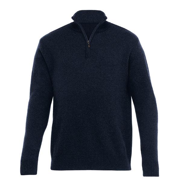 Lambs Wool Zip Pullover Mens